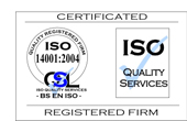 ISO 14001:2004 accreditation